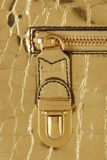 Marc Jacobs Cosmic croc effect metallic leather iPad case