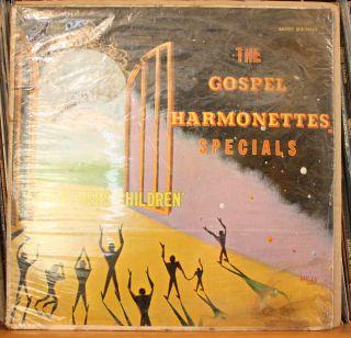 Gospel Harmonettes Specials My Fathers Children Black Gospel LP Savoy