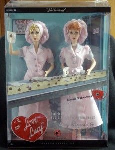 LOVE LUCY BARBIE COLLECTION JOB SWITCHING, EPISODE 39 ORIGINAL