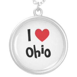 Ohio State Highway Patrol Necklace.