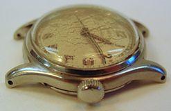 Vintage Abercrombie Fitch Shipmate Mens Wrist Watch 17J SS Swiss