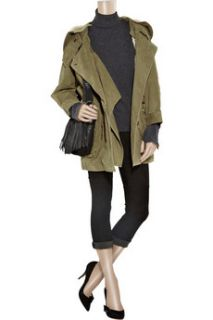 Étoile Isabel Marant Army style cotton parka   65% Off