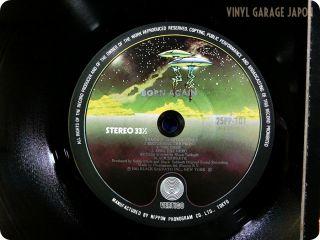 Again 1983 Japan Press Ozzy Osbourne Ian Gillan OBI LP X740