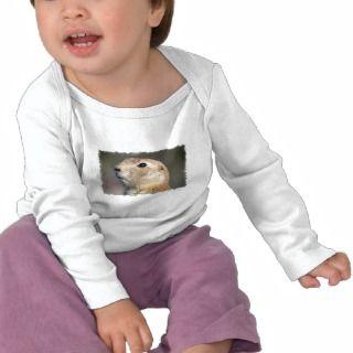 Black Tailed Prairie Dog Infant Tshirt