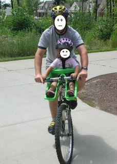 Ibert Front Mounted Baby Safe T Seat Child Bike Seat