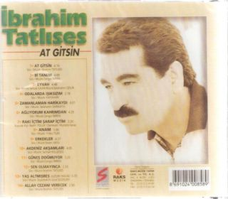 Ibrahim Tatlises at Gitsin Bi Tanem Eyvah Turkish CD