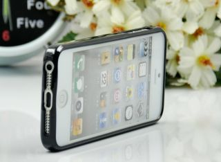 iCandy Rave iPhone 5 Case   GLOSSY BLACK   Screen Film included FREE