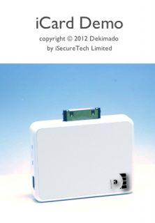 Dekimado Icard Credit Card Smart Card Reader for iPhone iPad