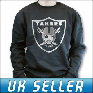 Ice Cube Takers Sweater Sweatshirt Jumper Raiders Top T Shirt Mens