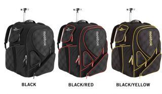 Reebok 10K Wheeled Backpack Ice Hockey Equipment Bag