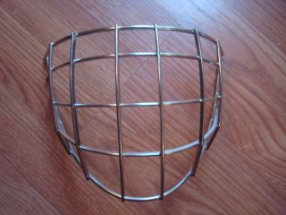 Ice Hockey Goalie Mask Replacement Stainless Steel Goalie Cage