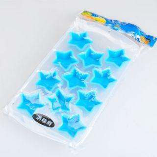 Ice Cube Tray Mold Silicone Star Shaped New Random Color E762