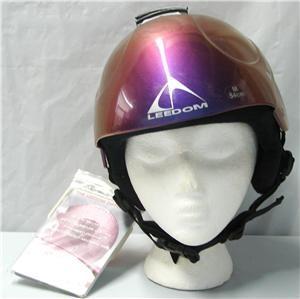 Leedom Limit Reef Snow Ski Snowboard Helmet Purple Medium New