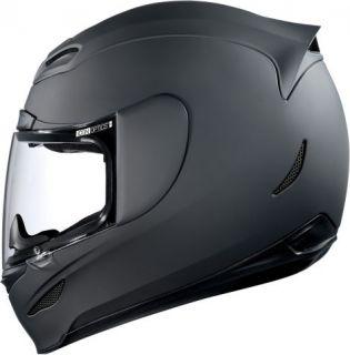 Icon Airmada Rubatone Helmet Sizes M 2XL Flat Black