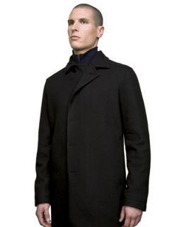 Icebreaker Coastal Mayfair Merino Wool Coat Mens L XL Long Tall