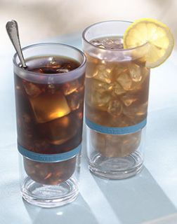 Brew Over Ice Duet   2 Tumblers Iced Coffee Iced Tea K Cups Kig BPA