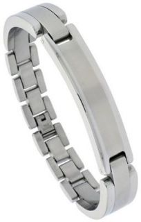 Personalized Quality Stainless Steel ID Bracelet Free Engraving