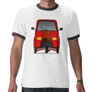 Piaggio Ape Mens T Shirt