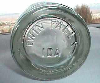 Antique TWIN FALLS IDAHO Coca Cola COKE bottle w/ pic INDIAN CHIEF