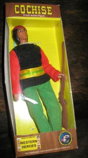 Breyer Style Western Heroes Cochise 8 Doll Action Figure Collectable W