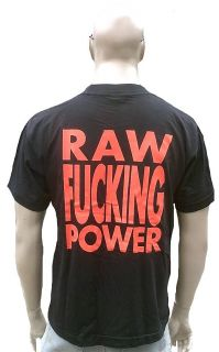 RAR Official Iggy Pop Raw Lover Power T Shirt XL