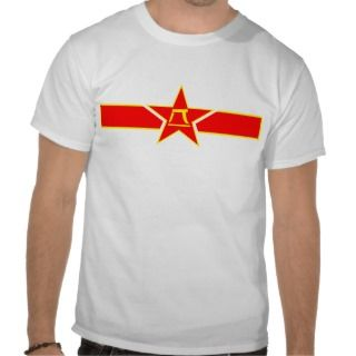Roundel of the Peoples Liberation Army Air Force T shirt