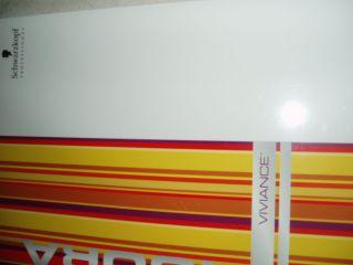 Schwarzkopf Igora Viviance Hair Color Chart Swatch Large Book