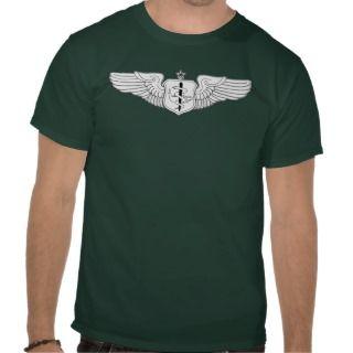 USAF Senior Flight Nurse Shirt, Vintage Aircraft