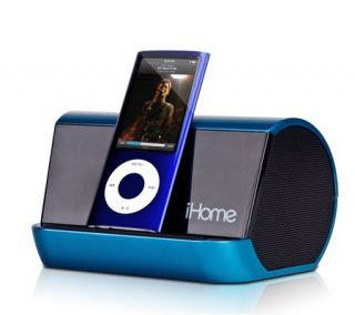 iHome IHM10L Portable MP3 Player Stereo Speaker System