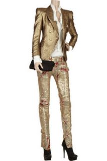 Balmain Metallic brocade jacket   75% Off