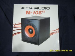 Ikey Audio M 10SV2 Active Subwoofer