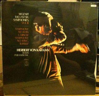 Mozart Last Six Symphonies Vol III LP Vinyl SEALED