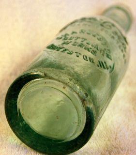 Charleston IL Slug Plate Straight Side Coca Cola Bottle
