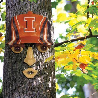 Illinois Fighting Illini 14X7 Forest Face