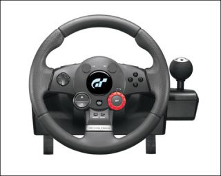 Logitech Driving Force GT Racing Wheel Pedals PS2 PS3