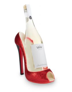 Ruby Slipper Red HighHeel Wine Bottle Holder TW SHOE221