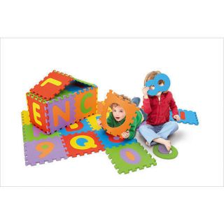 Imaginarium Alphabet Numbers Foam Puzzle Mat 36 Piece