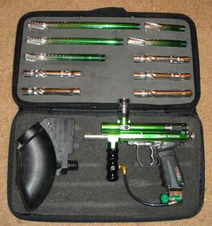 Spyder Imagine Custom Paintball Gun Marker Barrel Kit Package