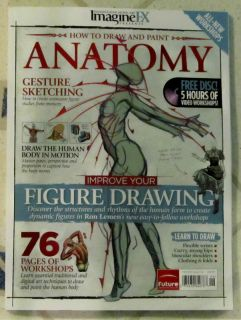 Imagine FX Presents Anatomy DVD 2012 Improve Your Figure Drawing Human