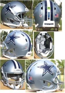 Cowboys Tony Romo brand new 2012 Rawlings Impulse football helmet