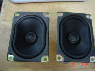 Speakers 2 1 16 x 3 1 16 x 1 7 8 Deep Full Range 8 Ohm at 3watt