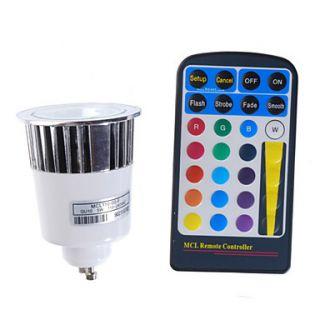 De 16 cores lâmpada por controle remoto levou com vários efeitos