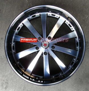 inch Wheels Rims GMC Yukon Chevy Tahoe Suburban Red Sport RSW77 Wheels