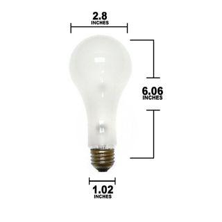 OSRAM 250W 120V ECA Super Photoflood Incandescent Light Bulb