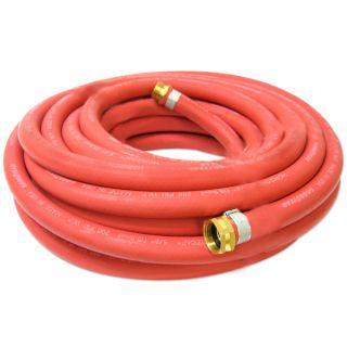 Rubber 5 8 inch x 50 ft All Weather Rubber Water Garden Hose
