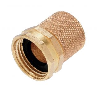 Brass Female 5 8 Water Hose Repair Garden Hoses Mender 56802N