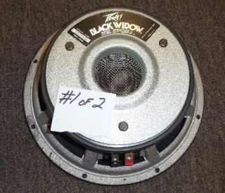 Peavey Black Widow Guitar Speaker 12 4 Ohm 12 inch Vintage Model 1203