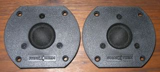 pair Phase Technology 1 soft dome tweeters from 2.5T speakers, Teatro