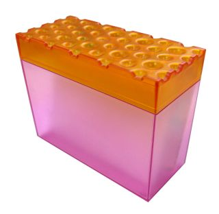 Koziol Brod Recipe Box w Dividers Recipe Index Cards