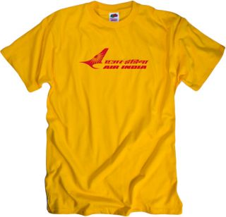Air India Vintage Logo Indian Airline T Shirt